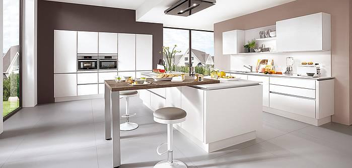 Modele De Cuisine Blanche A Prix Direct Usine Sur Le Bassin D
